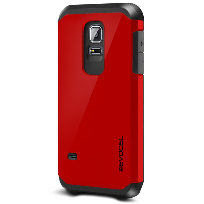 Evocel Samsung Galaxy S5 Mini Armure Series Red Case