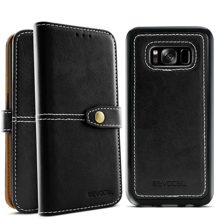 Evocel Samsung Galaxy S8 Plus Renaissance Series Black Case