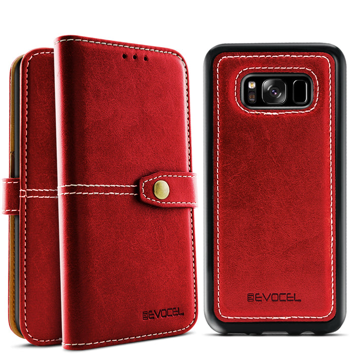 Evocel Samsung Galaxy S8 Plus Renaissance Series Red Case