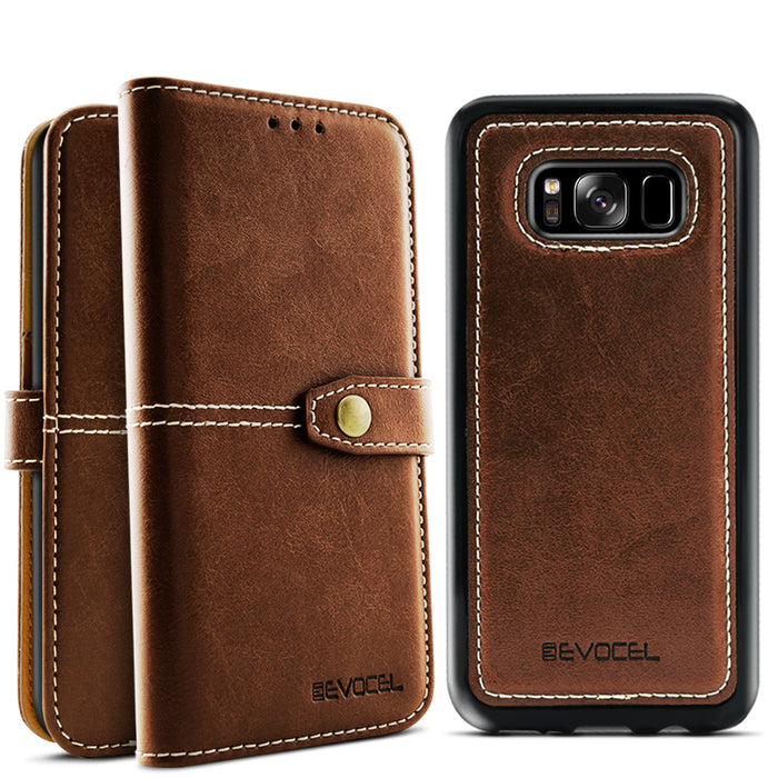 Evocel Samsung Galaxy S8 Plus Renaissance Series Brown Case