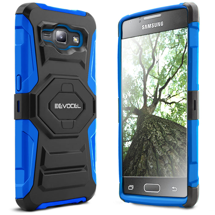 Evocel Samsung Galaxy J1 2015 New Generation Series Blue Case