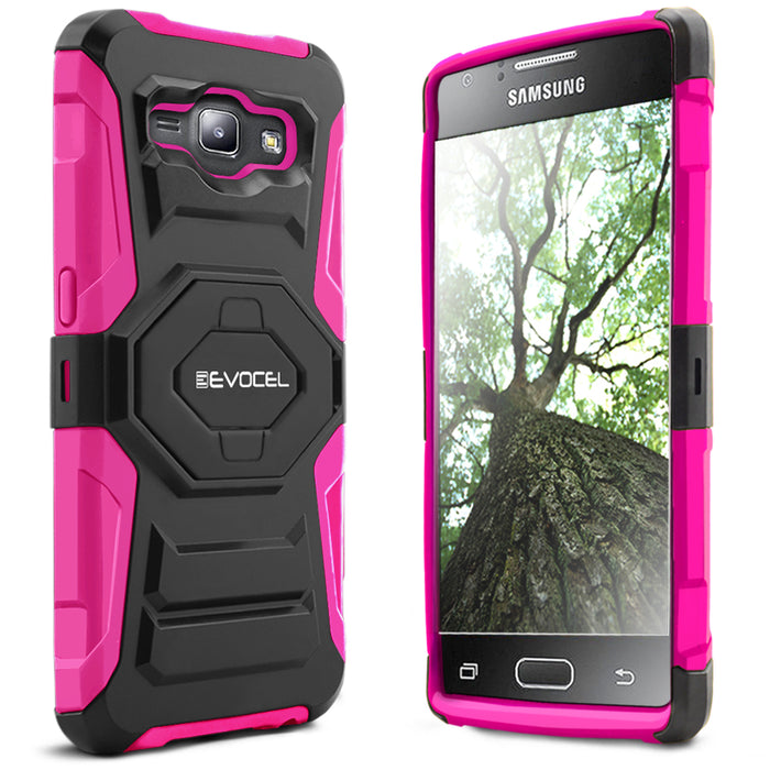 Evocel Samsung Galaxy J1 2015 New Generation Series Pink Case