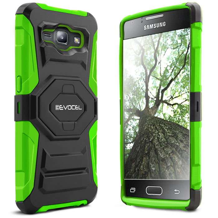 Evocel Samsung Galaxy J1 2015 New Generation Series Green Case