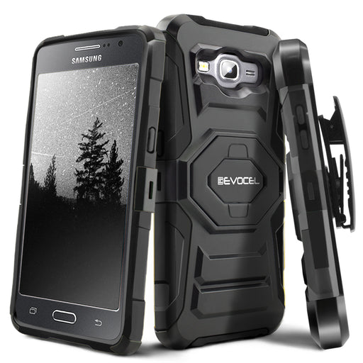 Evocel Samsung Galaxy J3 New Generation Series Black Case