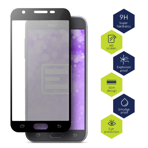 Samsung Galaxy J3 Emerge Tempered Glass Screen Protector