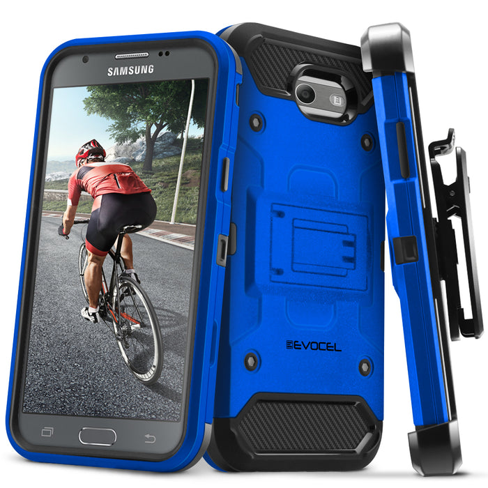 Evocel Samsung Galaxy Emerge Trio Pro Series Blue Case
