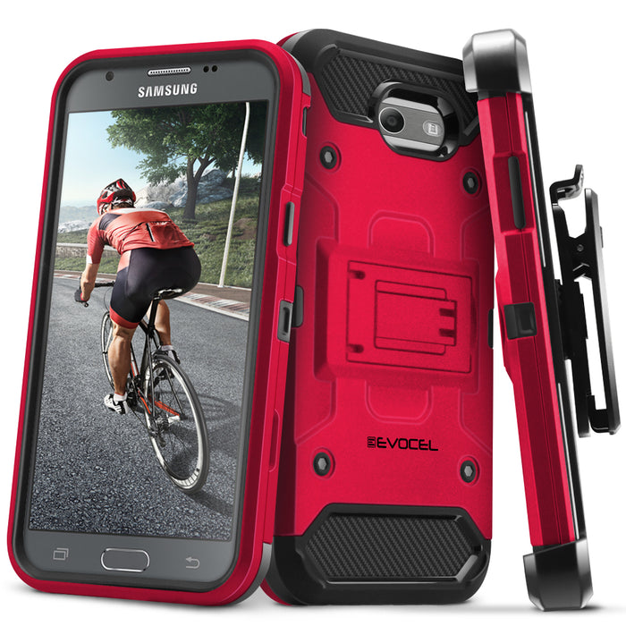 Evocel Samsung Galaxy Emerge Trio Pro Series Red Case