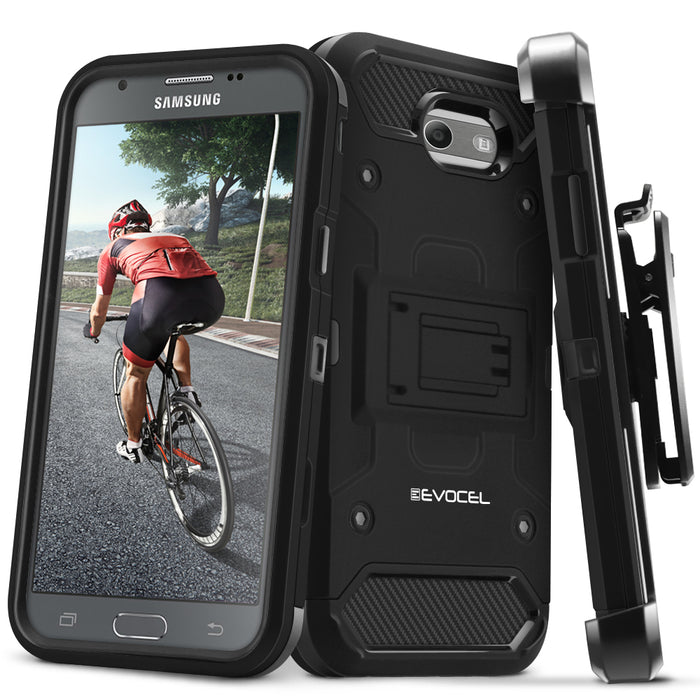 Evocel Samsung Galaxy Emerge Trio Pro Series Black Case
