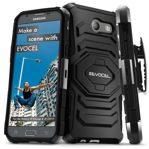 Evocel Samsung Galaxy Emerge New Generation Series Black Case