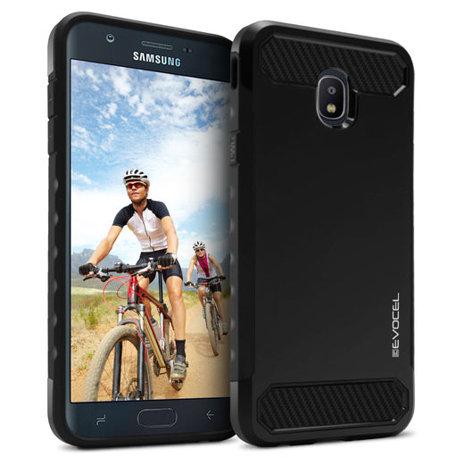 Evocel Samsung Galaxy J3 (2018) Dual Lite Series Black Case