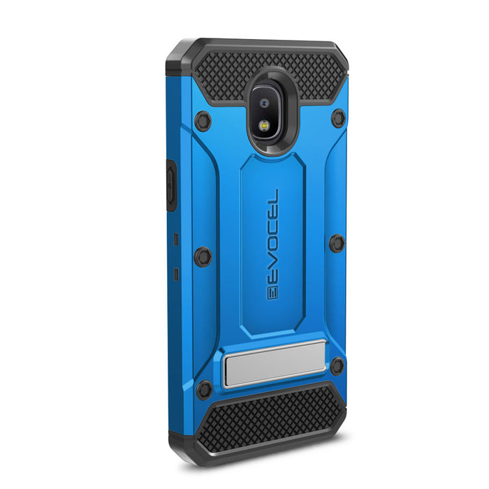 Evocel Samsung Galaxy J3 (2018) Explorer Series Pro Blue Case