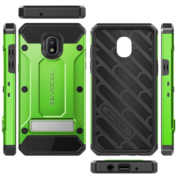 Evocel Samsung Galaxy J3 (2018) Explorer Series Pro Green Case