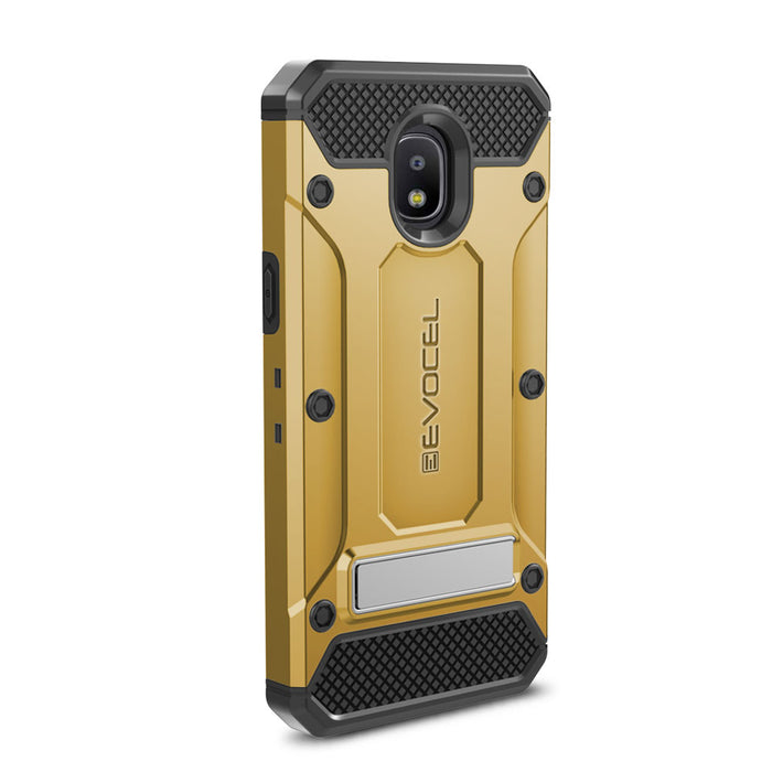 Evocel Samsung Galaxy J3 (2018) Explorer Series Pro Gold Case