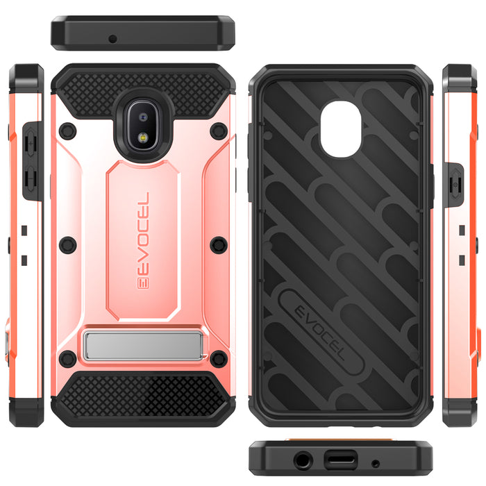 Evocel Samsung Galaxy J3 (2018) Explorer Series Pro Rose Gold Case