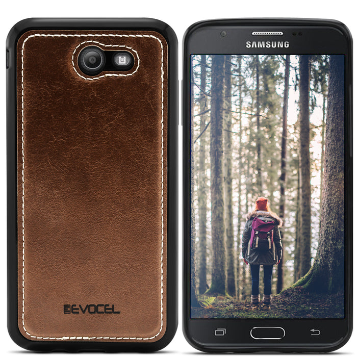 Evocel Samsung Galaxy J7 Prime 2017 Renaissance Series Brown Case