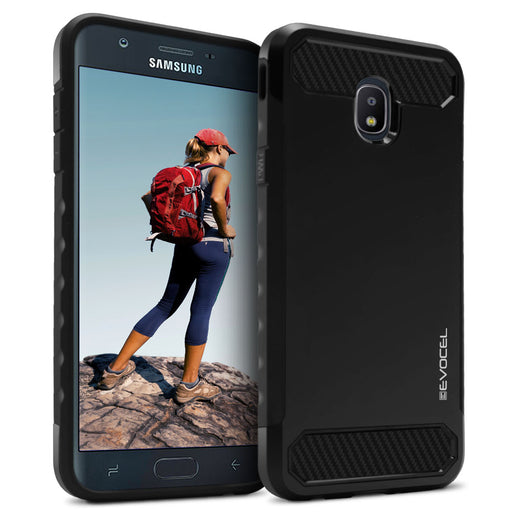Evocel Samsung Galaxy J7 (2018) Dual Lite Series Black Case