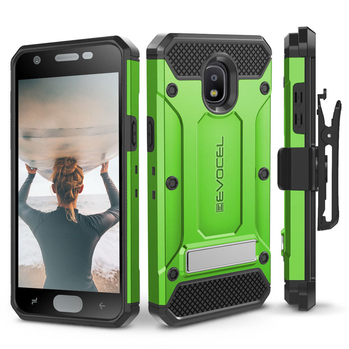 Evocel Samsung Galaxy J7 (2018) Explorer Series Pro Green Case