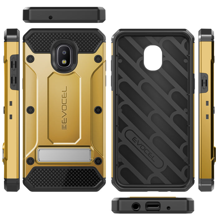 Evocel Samsung Galaxy J7 (2018) Explorer Series Pro Gold Case