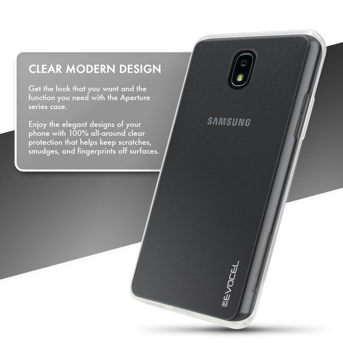 Evocel Samsung Galaxy J7 (2018) Aperture Series Clear Case