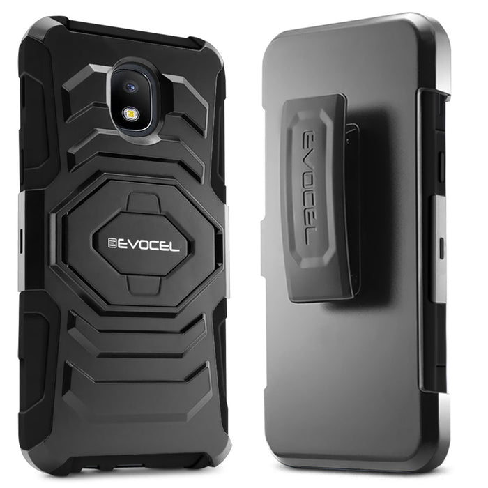 Evocel Samsung Galaxy J7 (2018) New Generation Series Black Case