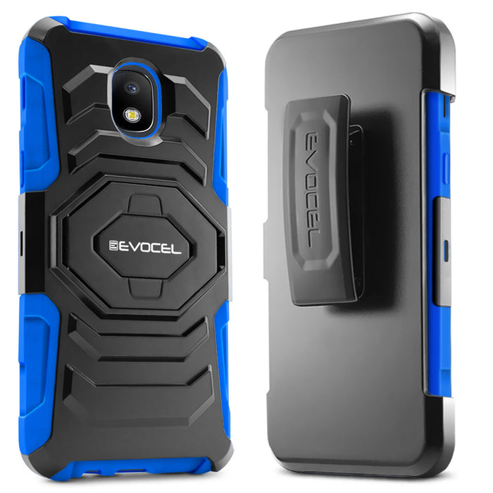 Evocel Samsung Galaxy J7 (2018) New Generation Series Blue Case