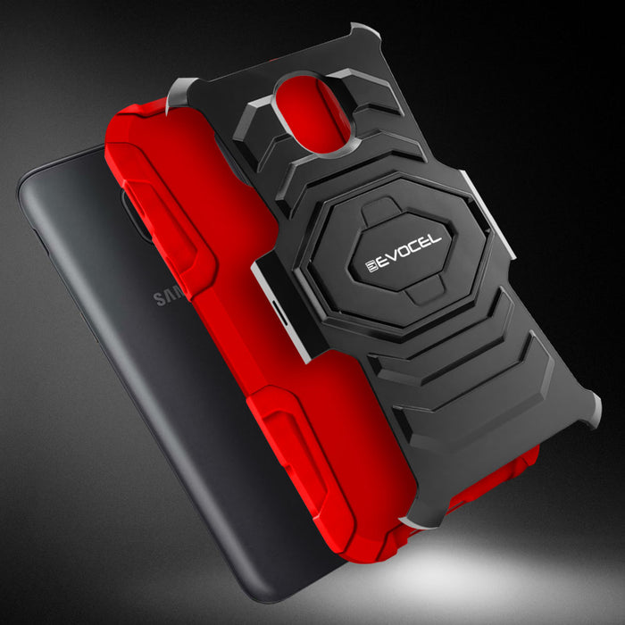 Evocel Samsung Galaxy J7 (2018) New Generation Series Red Case