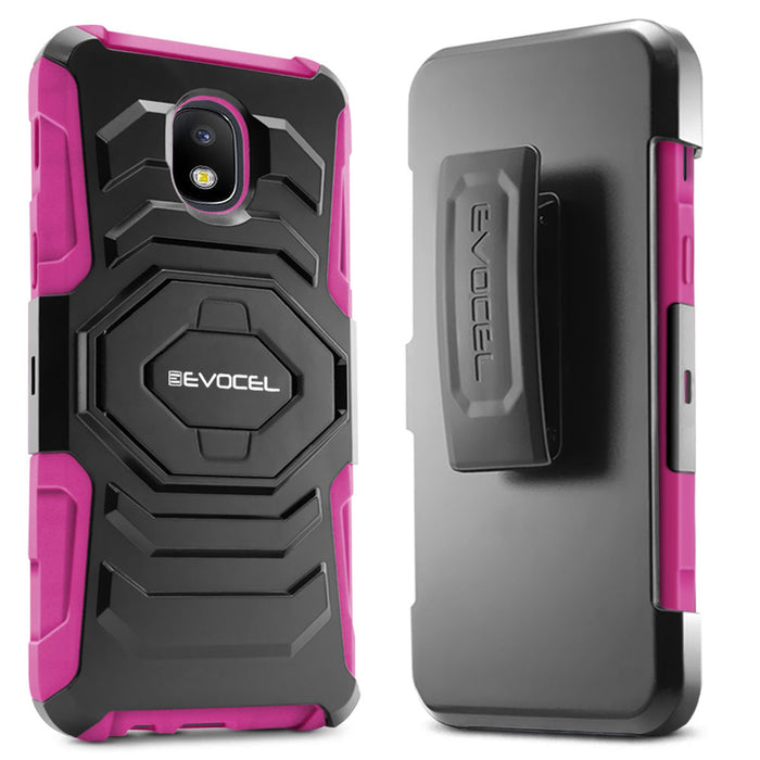 Evocel Samsung Galaxy J7 (2018) New Generation Series Pink Case