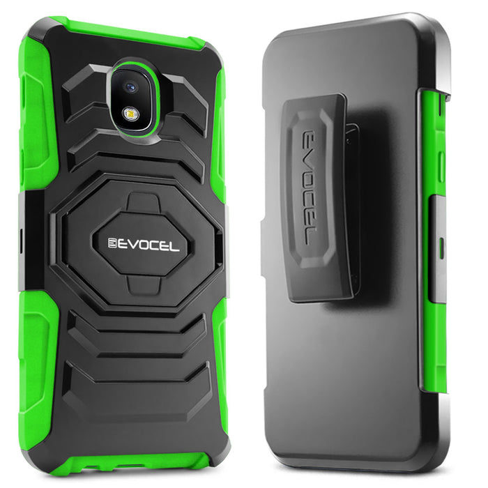 Evocel Samsung Galaxy J7 (2018) New Generation Series Green Case