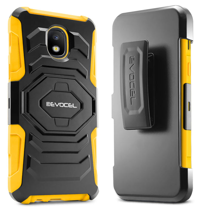 Evocel Samsung Galaxy J7 (2018) New Generation Series Yellow Case