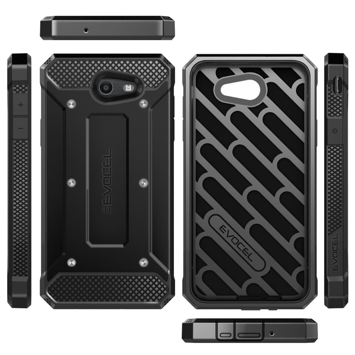 Evocel Samsung Galaxy J7 2017 Explorer Series Black Case