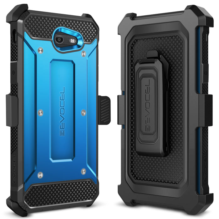 Evocel Samsung Galaxy J7 2017 Explorer Series Blue Case