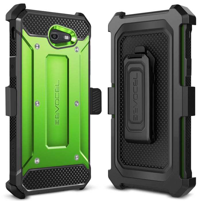 Evocel Samsung Galaxy J7 2017 Explorer Series Green Case