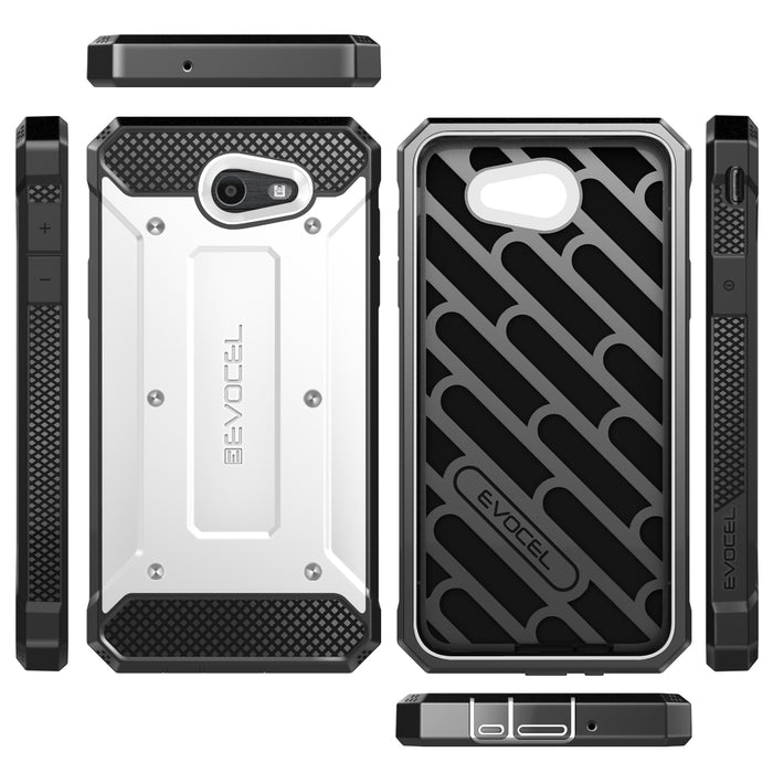 Evocel Samsung Galaxy J7 2017 Explorer Series White Case