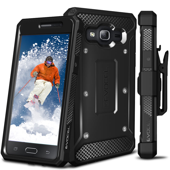 Evocel Samsung Galaxy On5 Explorer Series Black Case