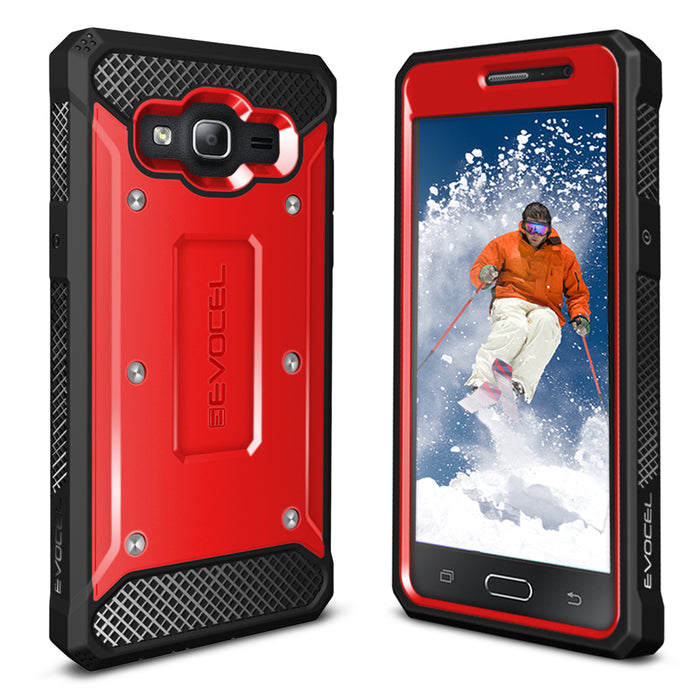 Evocel Samsung Galaxy On5 Explorer Series Red Case