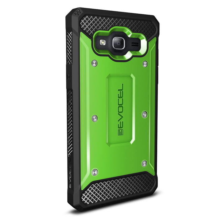Evocel Samsung Galaxy On5 Explorer Series Green Case