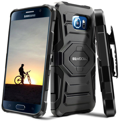 Evocel Samsung Galaxy S6 New Generation Series Black Case