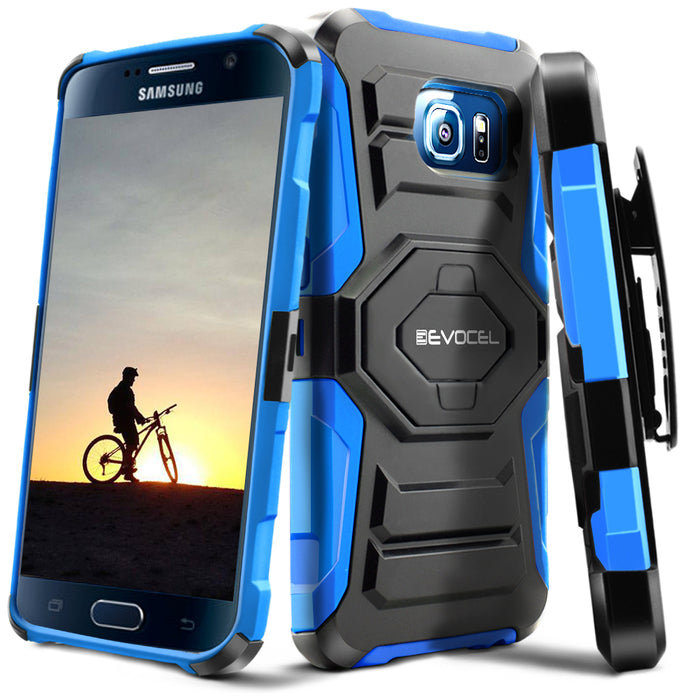 Evocel Samsung Galaxy S6 New Generation Series Blue Case