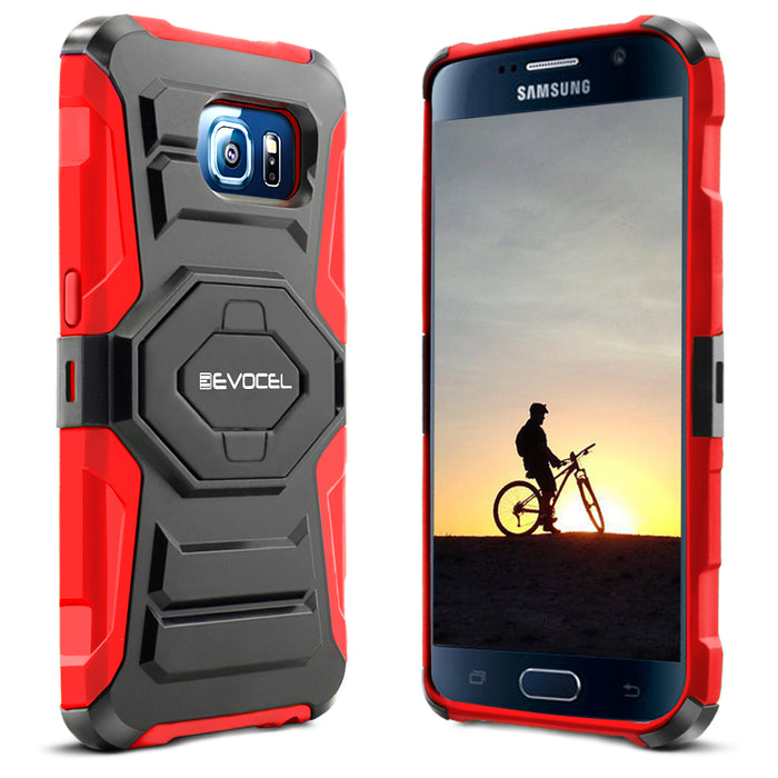 Evocel Samsung Galaxy S6 New Generation Series Red Case