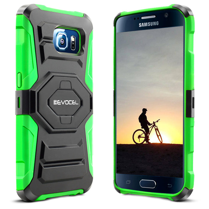 Evocel Samsung Galaxy S6 New Generation Series Green Case