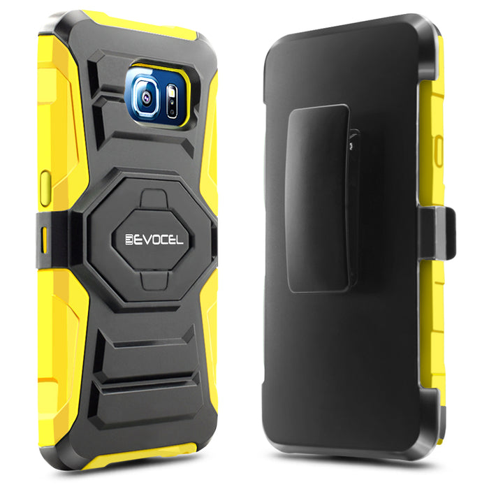 Evocel Samsung Galaxy S6 New Generation Series Yellow Case