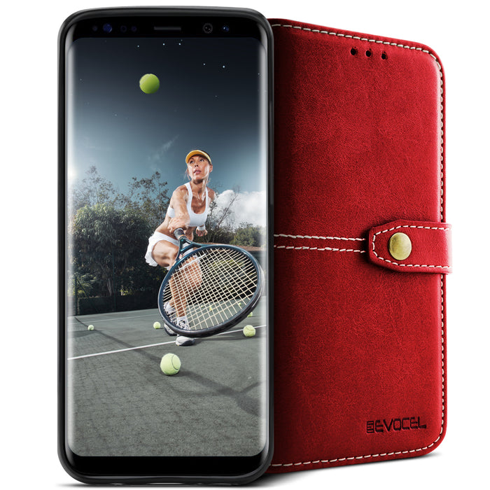 Evocel Samsung Galaxy S8 Renaissance Series Red Case