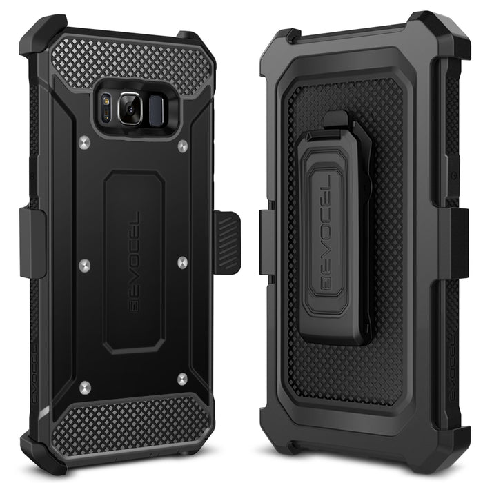 Evocel Samsung Galaxy S8 Explorer Series Black Case