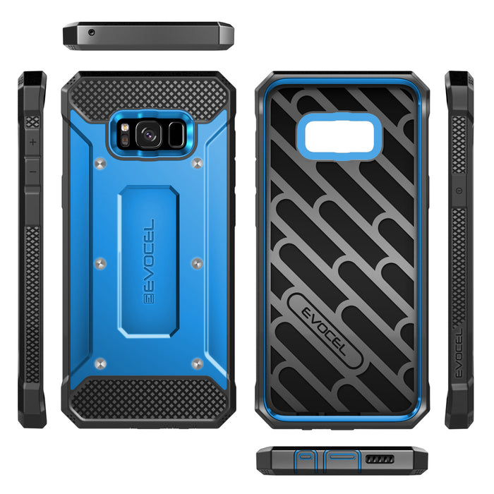 Evocel Samsung Galaxy S8 Explorer Series Blue Case