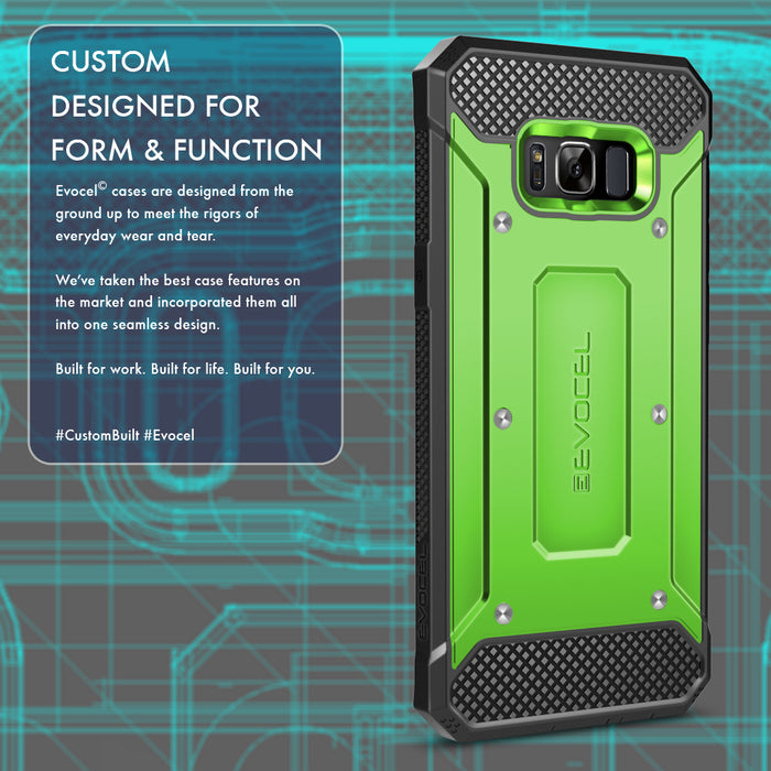 Evocel Samsung Galaxy S8 Explorer Series Green Case