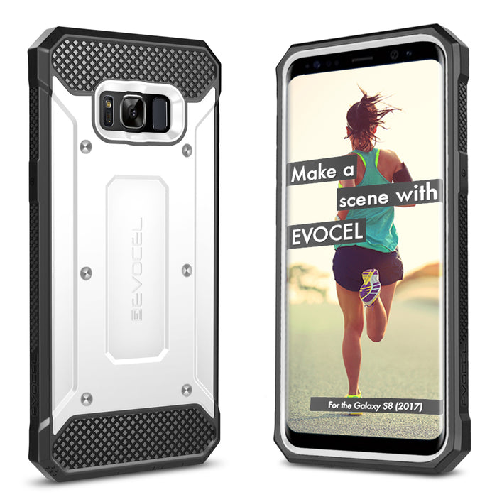 Evocel Samsung Galaxy S8 Explorer Series White Case
