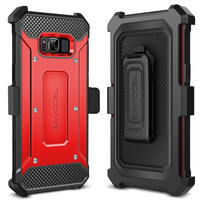 Evocel Samsung Galaxy S8 Plus Explorer Series Red Case