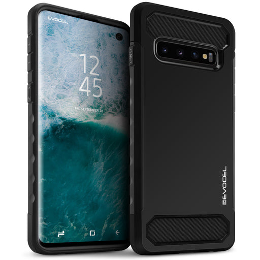 Evocel Samsung Galaxy S10 Dual Lite Series Black Case