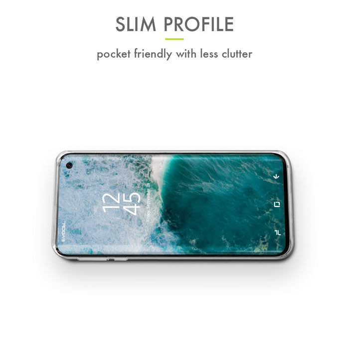 Evocel Samsung Galaxy S10 Iconic Series Black Marble Case