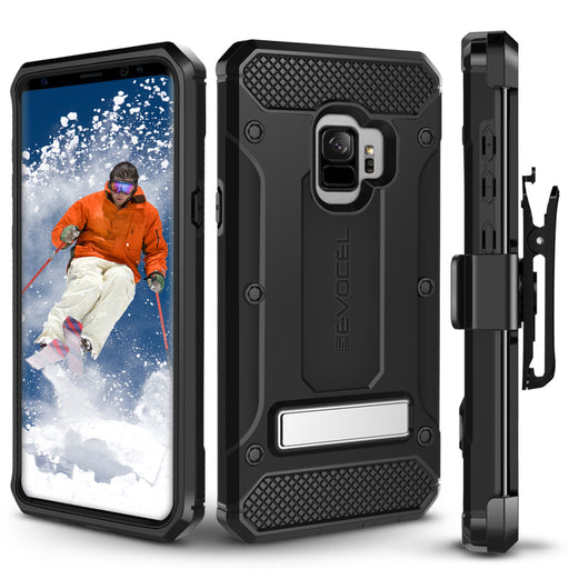 Evocel Samsung Galaxy S9 Explorer Series Pro Black Case